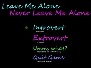 LeavemeAloneNeverLeaveMeAlone screen 1