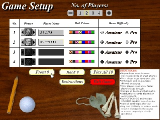 Mini Golf Master screen 2