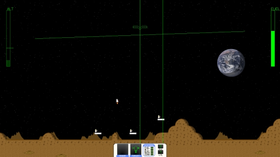 Moon Lander screen 1